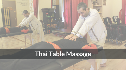 Thai Table Massage